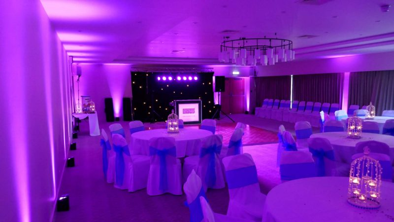 Mobile DJ Stonehouse Court Hotel Wedding