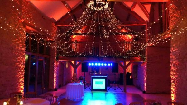 Mobile Disco Kingscote Barn Tetbury