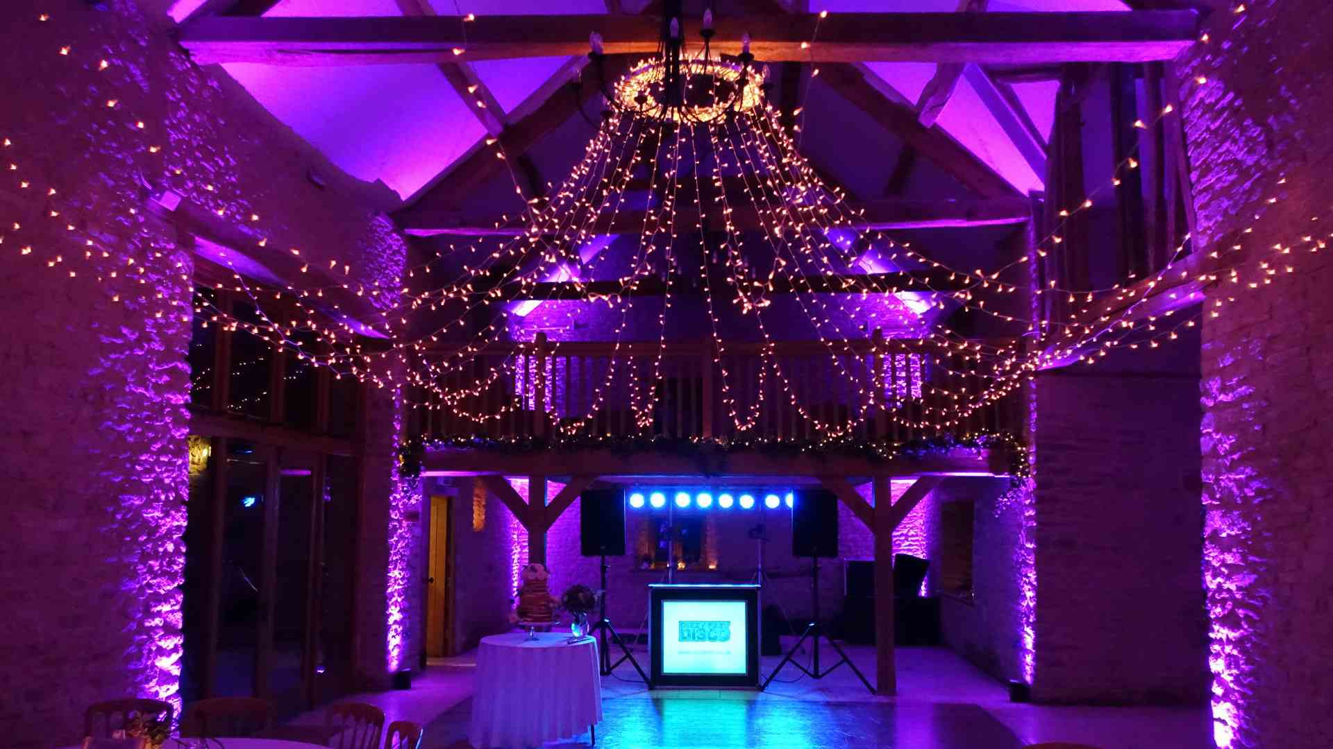 Wedding Disco Kingscote Barn Mobile DJ Hire