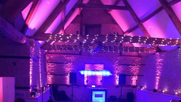 Mobile Disco Wick Farm Barn Bath