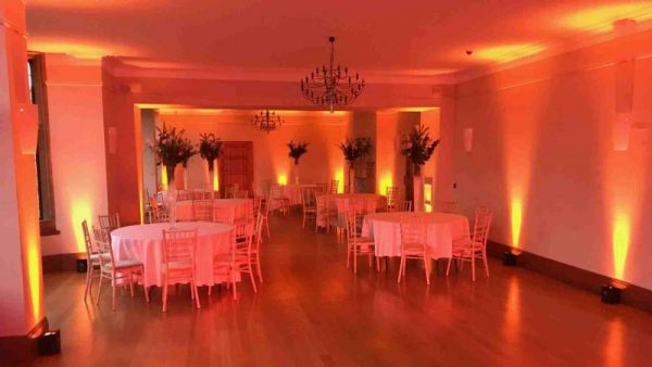 Wireless LED Uplighting Coombe Lodge