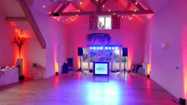 Hyde Barn Stow on the Wold Wedding Disco