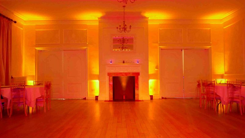 LED Mood Lighting Hire