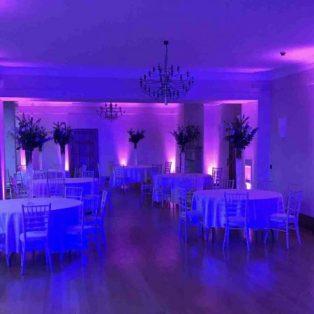 Music Room Coombe Lodge Bristol Mood Lighting