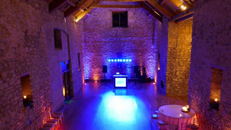 Tythe Barn Priston Mill Bath Wedding Disco Party