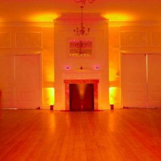 Dizzy Feet Events Eastington Park LED Uplighter Uplights Hire